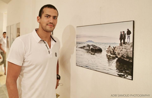 Houaria, oussema mellouli, tunisie,photo, expo,adib samoud, récits de la mer, vernissage, art