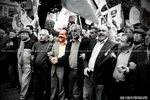 chokri belaid, chahid, شكري بلعيد, 14 janvier 2013